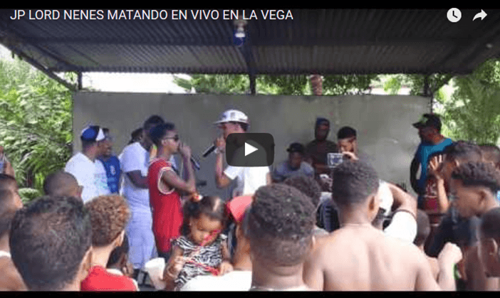 VER VIDEO: JP LORD NENES – MATANDO EN VIVO EN LA VEGA