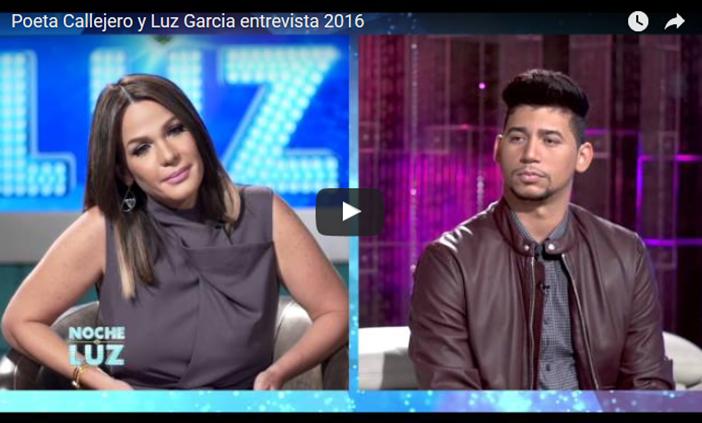 mi madre!! El Poeta Callejero EN EL LIMBO En Entrevista Con Luz Garcia!