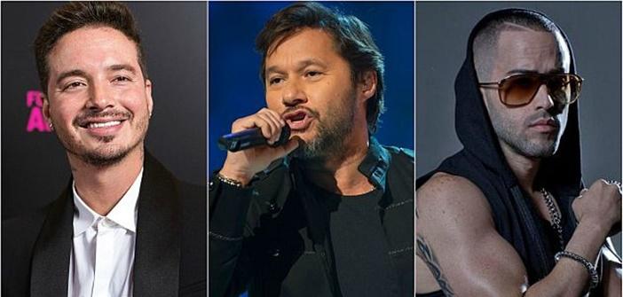 Diego Torres, J. Balvin y Yandel cantarán en Latin Grammy