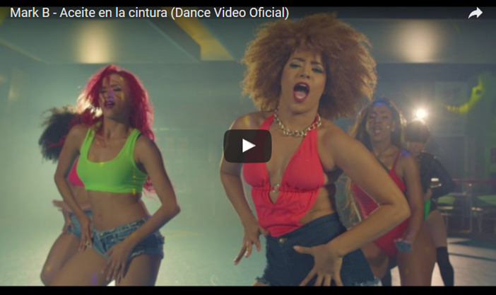 Mark B – Aceite en la cintura (Dance Video Oficial)