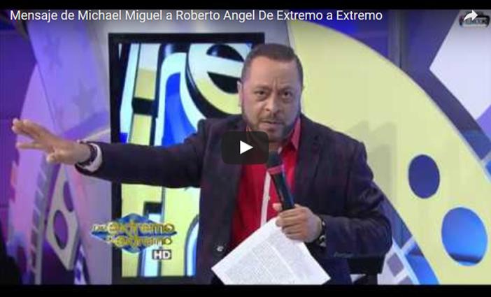 VAINAS de Michael Miguel a Robertico