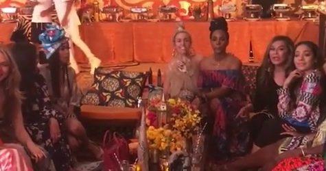 Famosos celebran mellizos de Beyonce y Jay Z